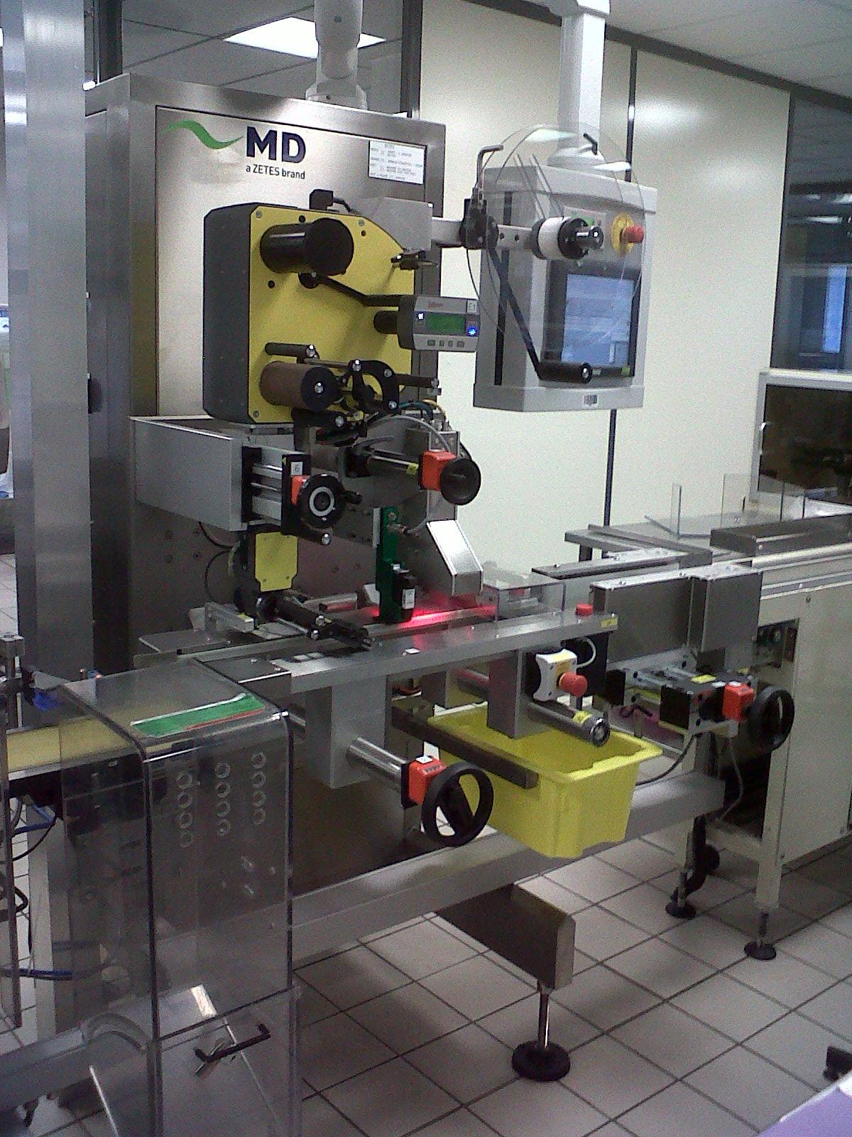 Unieke motoren voor de etiketteersystemen van Zetes