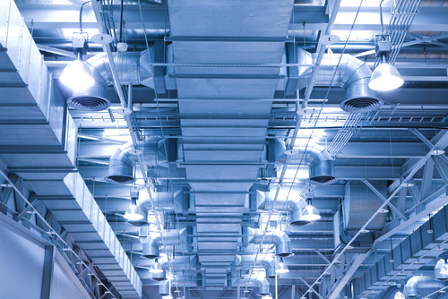 Ventilation,Pipe,Of,An,Air,Condition,For,Fresh,Environment