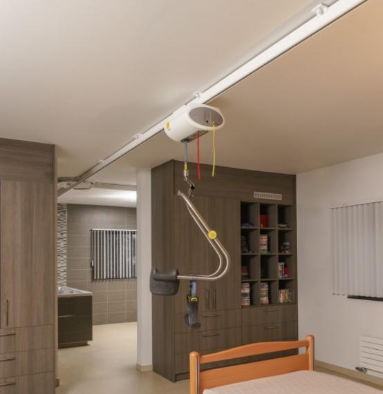 Betrouwbare motoren voor de plafondliften van Handi-Move